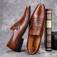 Giày Lười Nam Công Sở Da Bò Cao Cấp Mới Mã IS108