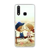 Ốp lưng dẻo cho điện thoại Vivo Y19 - 0248 KISSLOVE03 - Hàng Chính Hãng