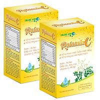 2 hộp thực phẩm bảo vệ sức khỏe Rutamin C ( hộp 5 vỉ x 10 viên nang)