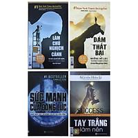 Combo Sách Kỹ Năng Hay:  Tay Trắng Làm Nên + Sức Mạnh Của Động Lực + Dám Thất Bại + Làm Chủ Nghịch Cảnh - (Những Cuốn Sách Có Thể Làm Thay Đổi Cuộc Đời Bạn / Bộ 4 Cuốn / Tặng Kèm Bookmark Greenlife)