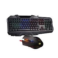 Bộ bàn phím và chuột chơi game A4Tech Bloody B150N - Q50 X-Glide 3200 DPI - Hàng Chính Hãng
