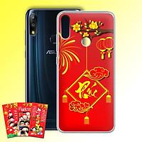 Ốp lưng dẻo cho điện thoại Zenfone Max Pro M2 - 01219 7972 PHUC04 - Tặng bao lì xì Cung Chúc Tân Xuân - Hàng Chính Hãng