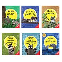 Sách Picture Book Song Ngữ 3-8 Tuổi - Gấu Mèo Chester ( Trọn bộ 6 cuốn)  - Tái bản 2021