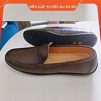 Giày Lười Nam Da Mềm Kiểu Dáng Công Sở Sang Trọng , Dáng Xỏ Không Dây Siêu Tiện Dụng da thật 200%