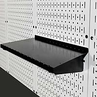 Bộ kệ đỡ 40 Pegboard - Giá treo bằng thép sơn tĩnh điện - Phụ kiện móc treo dụng cụ Pegboard