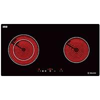 Bếp Âm Đôi Hồng Ngoại Malloca MH-02R (72 cm) - Hàng Chính Hãng