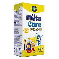 Thùng sữa nước Nutricare Metacare ECO (Vị Chuối) - ăn ngon cao khoẻ tinh anh cho trẻ từ 1 tuổi (110ml x 48 hộp)