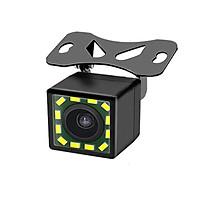 Camera Lùi Cho Xe Hơi CCD 12 LED (Vuông)