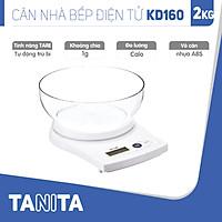 Cân điện tử nhà bếp TANITA KD160 (Chính hãng Nhật Bản), Cân nhà bếp 1kg, Cân nhà bếp 2kg, Cân nhà bếp 5kg, Cân Nhật, Cân trọng lượng, Cân chính hãng, Cân thực phẩm, Cân thức ăn, Cân tiểu ly điện tử, Cân chính xác, Cân làm bánh