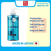 Sữa Tắm Pharmaact Cool (Dành Cho Nam) 600ML