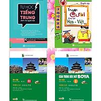 Combo: 1.Tự học tiếng Trung cho người việt+ 2.Truyện cười song ngữ Hoa Việt+ 3.GIÁO TRÌNH HÁN NGỮ BOYA SƠ CẤP I+ 4.GIÁO TRÌNH HÁN NGỮ BOYA SƠ CẤP 2.