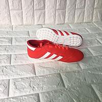 Giày đá bóng đá banh 3 sọc - 75445 màu đỏ