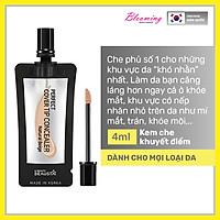 Kem che khuyết điểm, độ chống nắng SPF 25 Beausta Perfect Cover Tip Concealer -Natural Beige 4ml