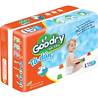 Tã dán Goodry size L38 (9-14kg)