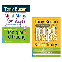 Combo 2 cuốn sách của tác giả Tony Buzan : Nền Tảng Và Ứng Dụng Của Bản Đồ Tư Duy + Bí Quyết Học Giỏi Ở Trường/ Bộ sách giúp trẻ có phương pháp học tập hiệu quả nhất
