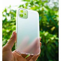"""Ốp Lưng Cường Lực Viền Trong Suốt Dùng Cho iPhone 12 (6.1"""") Bảo Vệ Full Camera - Hàng Chính Hãng CAFELE"""
