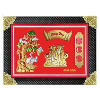 Tranh Đồng Mừng Thọ Hình Ông Bà - Tôn Đản HP (50 x 70cm)