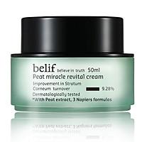 Kem dưỡng than bùn khoáng tăng cường đàn hồi da Belif Peat Miracle Revital Cream 50ml