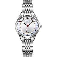 Đồng hồ nữ mặt xà cừ Thụy Sĩ TOPHILL TE050L.S1687