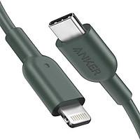 Dây Cáp Sạc USB - Type C To Lightning Chuẩn MFi Cho iPhone PowerLine II 0.9m - A8632 - Hàng Chính Hãng