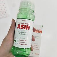 Nước súc miệng ASIN - Nano Berberine & Chlorhexedine 0.12% (250ml)