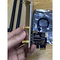 Card WIFI WTXUP dùng chip Intel WIFI AX200 tích hợp Bluetooth 5.1 - Card WIFI Bluetooth cho PC - Hàng nhập khẩu
