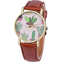 Casual Watch Quartz Watch Decorative 5 Colors Potted Pattern Pointer Young Man Decoration Watches