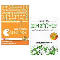 Combo Sách Y Học Bạn Cần Biết: TedBooks - Nghe Theo Cái Bụng + Nhân Tố Enzyme - Phương Thức Sống Lành Mạnh ( Tặng Kèm Bookmark Love Life)