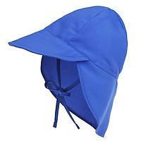 Boys Girls Flap Hat, Kids Sun Protection Sun Hat S Purple