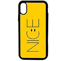 Ốp lưng dành cho Iphone X N.I.C.E Vàng - Hàng Chính Hãng