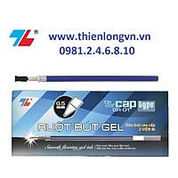 Hộp 24 ruột bút nước - bút gel 0.5mm Thiên Long GR-01 mực xanh