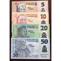 Sét tiền cổ Nigeria polymer s4 tờ sưu tầm