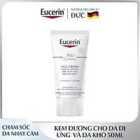 Kem Dưỡng Cho Da Khô và Da Bị Kích Ứng Eucerin Ato Control Soothing Face Cream 50ml