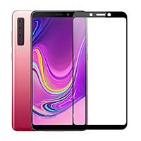 Miếng dán kính cường lực full màn hình111Dcho Samsung Galaxy A9 2018 hiệu HOTCASE(siêu mỏng chỉ 0.3mm, độ trong tuyệt đối, bo cong bảo vệ viền, độ cứng 9H) - hàng nhập khẩu