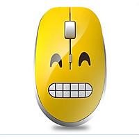 Chuột không dây biểu cảm cảm xúc 06 ( Chống ồn, mặt cười dễ thương ) - Hàng nhập khẩu