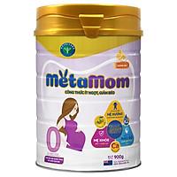 Sữa bột Nutricare MetaMom ít ngọt hỗ trợ giảm béo chăm sóc toàn diện cho mẹ bầu & cho con bú (900g)