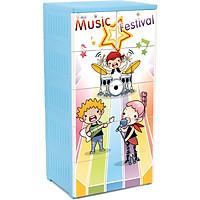 Tủ Nhựa Đại Đồng Tiến Fairy T1220-5 Bé Chơi Nhạc