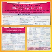 Tóm tắt kiến thức Hóa học 10-11-12 (2 bản/ gói)