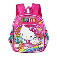 Balo mẫu giáo, nhiều  hình dễ thương cho bé gái, HAMI bmg212 - hàng chính hãng, hàng Việt Nam chất lượng cao