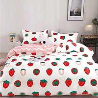 Bộ ga và vỏ chăn cotton Sweet Love VSL1044 ( 5 món )