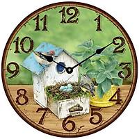 Đồng hồ treo tường phong cách cổ MS 26