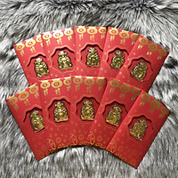 Combo 10 Bao Lì Xì Thần Tài màu vàng thường độc lạ năm mới 2020 - TMT COLLECTION -MS352