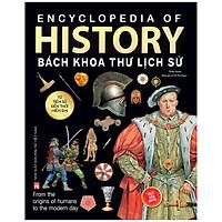 History Bách Khoa Thư Lịch Sử (4 Màu- Bìa Cứng) (Tái Bản 2020)