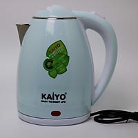 Ấm siêu tốc 2 lớp chống bỏng cao cấp Kaiyo KY165 - Hàng chính hãng - Giao màu ngẫu nhiên
