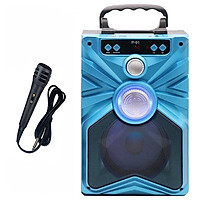 Loa xách tay Bluetooth tích hợp chức năng Karaoke Profit JL  P91 - P93(Tặng Micro Karaoke) - Giao màu ngẫu nhiên
