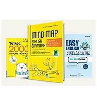 Combo Bộ sách Học Tiếng Anh Bằng Mindmaptv
