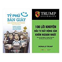 Combo Tỷ Phú Bán Giày (Tái Bản 2018) + 100 Lời Khuyên Đầu Tư Bất Động Sản Khôn Ngoan Nhất (Tái Bản 2018) (2 Cuốn)