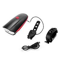 Đèn Còi Xe Đạp CREE-XPG 7588 | Sạc USB Chống Nước |Độ Sáng 250 Lumen - Âm Vang Còi 140dB | Pin 1200 mah | Sáng Liên Tục 5 Giờ