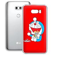 Ốp lưng điện thoại LG V30 - 01253 7864 DOREMON08 - Silicon dẻo - Hàng Chính Hãng
