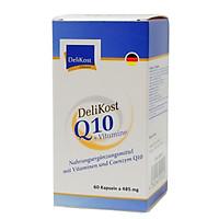 """""""Viên uống Coenzyme Q10 + Vitamin E bảo vệ tim mạch, chống lão hóa da, hỗ trợ não và trí nhớ DeliKost  """""""